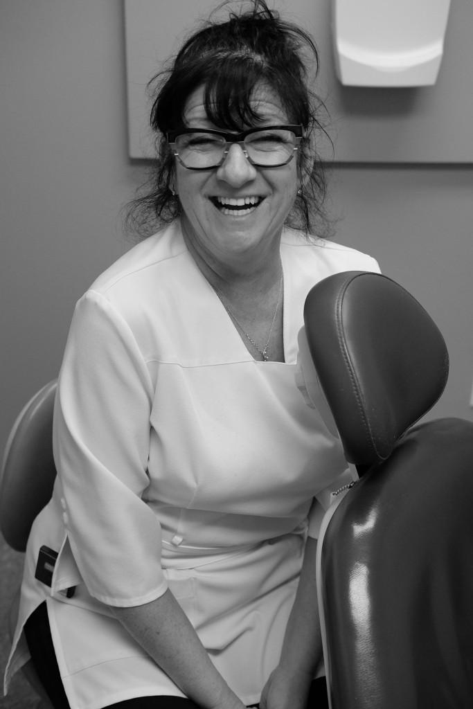 Ginette, hygiéniste dentaire