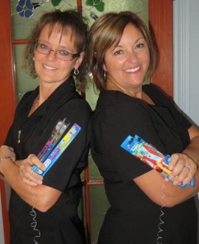 Nathalie et louise, hygiénistes